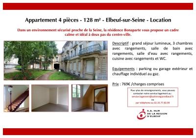 Appartement 4 pièces Bonaparte