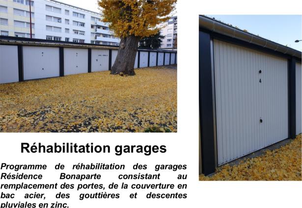 Réhabilitation garages